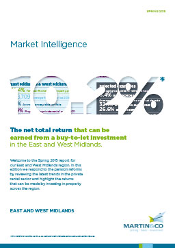 Cover of East & West Midlands