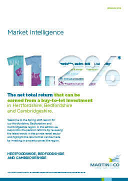 Cover of Hertfordshire, Bedfordshire & Cambridgeshire