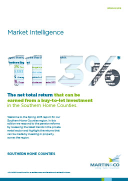Cover of Southern Home Counties