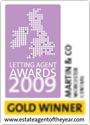 The ESTAS Letting Agent Awards 2009 — Silver Winner