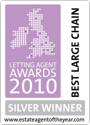 The ESTAS Letting Agent Awards 2010 — Silver Winner