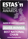 The ESTAS Letting Agent Awards 2011 — Silver Winner