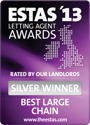 The ESTAS Letting Agent Awards 2013 — Silver Winner