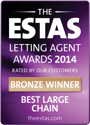 The ESTAS Letting Agent Awards 2014 — Bronze Winner